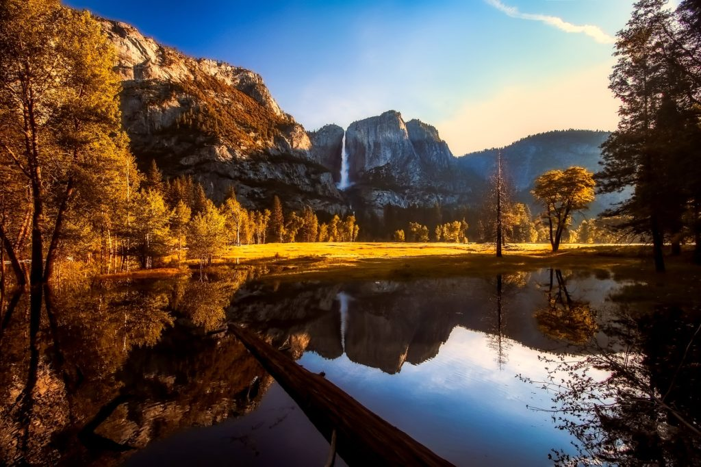 Yosemite National Park is one of 62 parks and one of the top USA attractions.