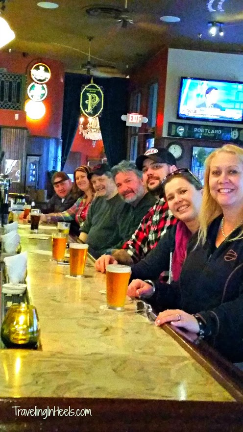 When visiting Portland, Oregon, we took time out to enjoy our adult children at Paddy's, an Irish bar near Hotel Rose.