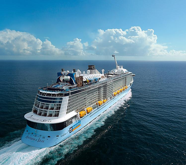 Ready for one of the best vacations for empty nesters? A cruise on Anthem of the Seas! Photo: Royal Caribbean