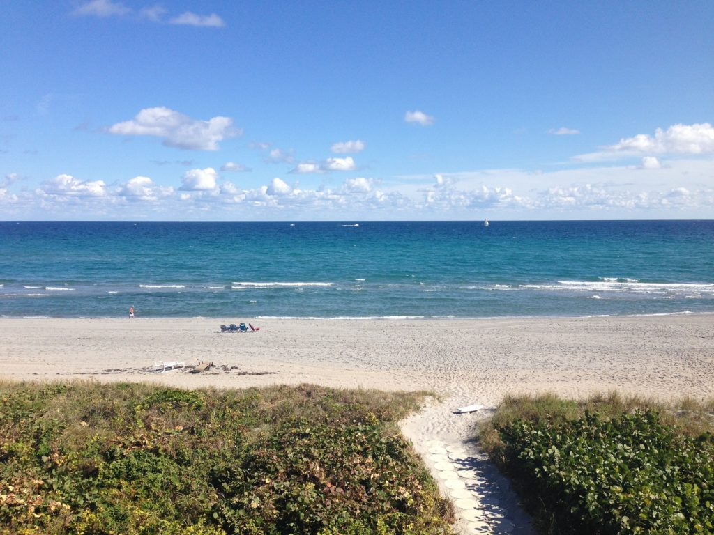 Delray Beach is a small city on Florida's southeast coast.
