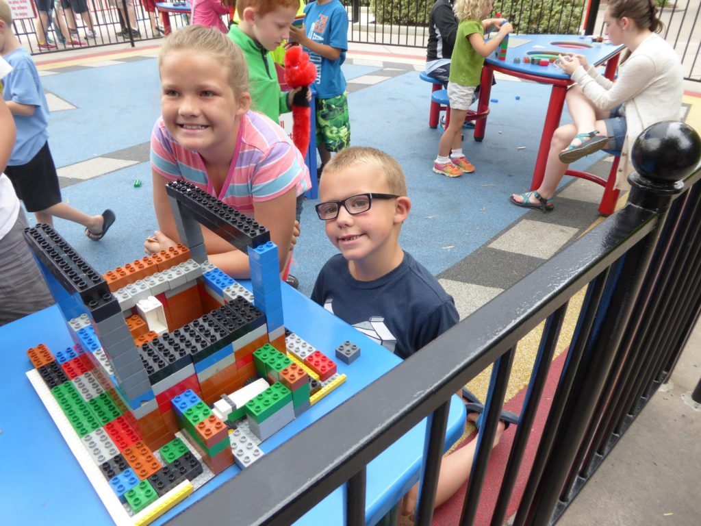 While you may not be able to visit Legoland California, you can bring the Legos to you with Lego building challenges for fun things to do inside.