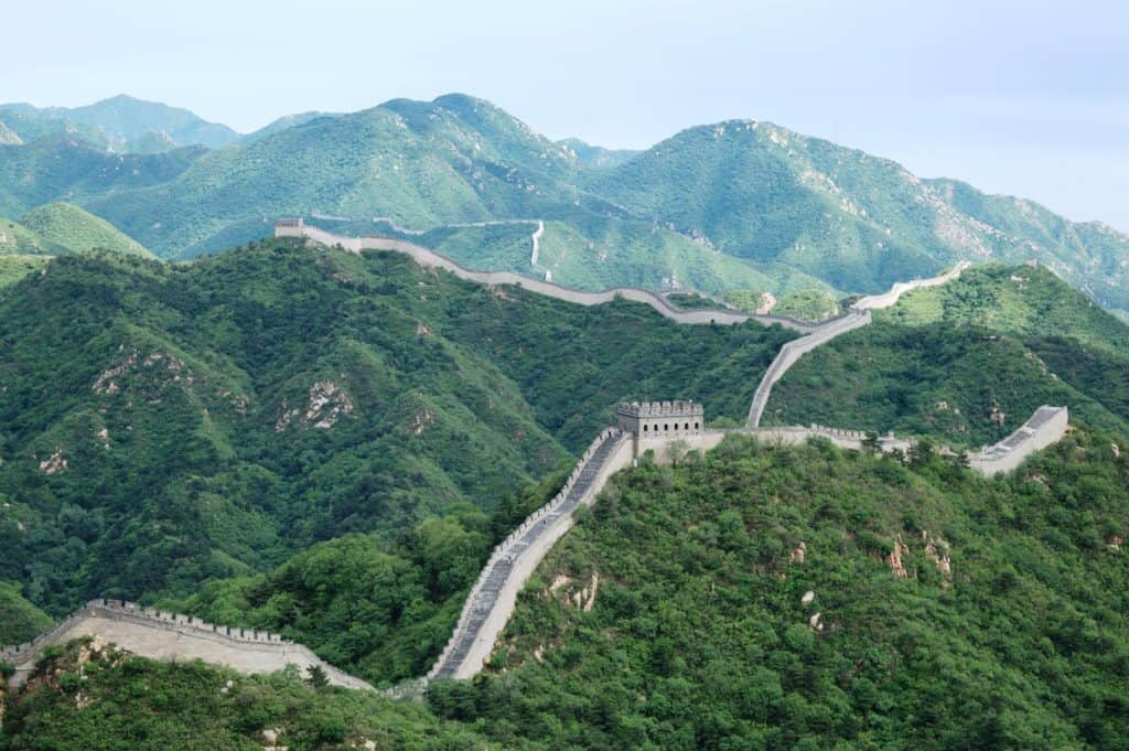 Virtual field trips include checking off travel bucket list destinations like the Great Wall fo China.