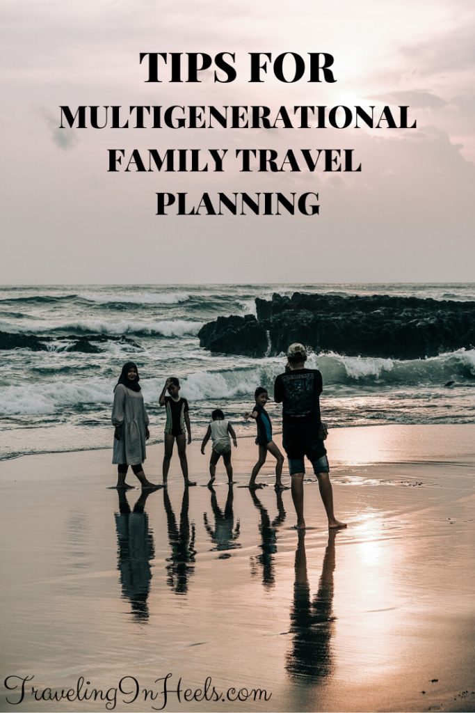From travel insurance to planning, we've been there done that and share these multigenerational family travel planning tips. #multigenerationalfamilyvacation #familyvacation #multigentravel #multigenerationaltravel #TravelConfident #TravelHappy #ad