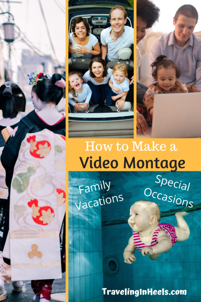 How to Make a Video Montage for Family Vacations or Special Occasions #familyvacations #multigentravel #familyvacationvideos #howtomakevideomontage #creatingfamilyvideos