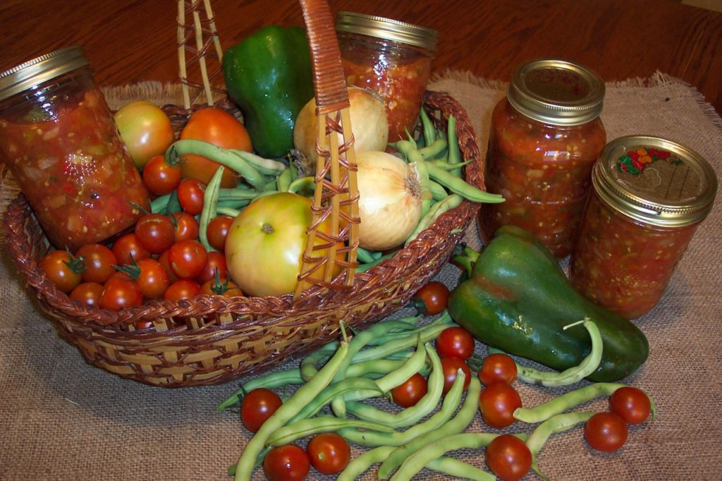 Of course, if you can your own tomatoes, even better, as that fresh taste will carry through to your homecooked meals.