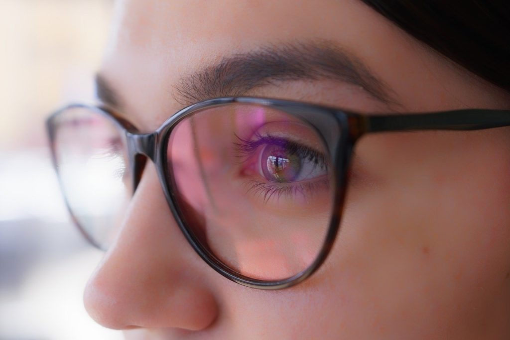 Keep your healthy eyes looking stylish with a high quality pair of glasses.