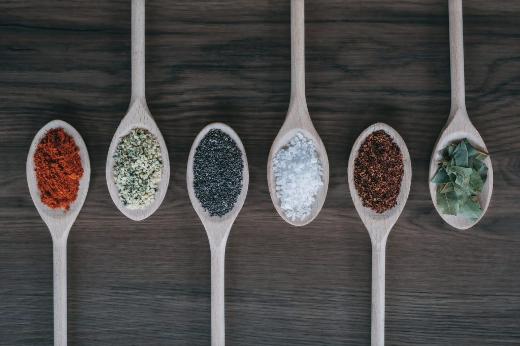Pantry essentials include stocking up on your most-often used spices.