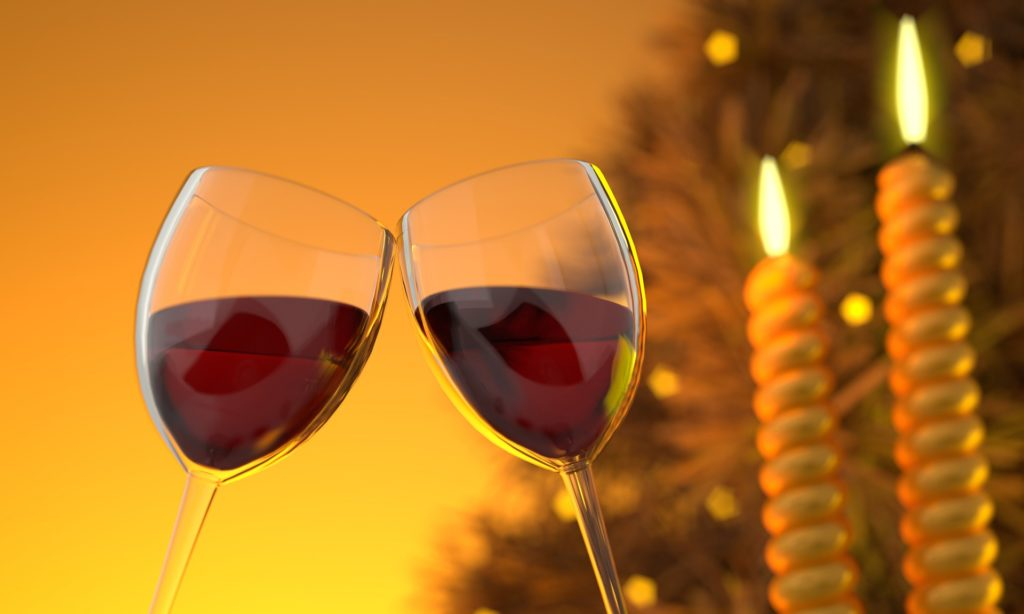 It's always fun to include wine pairings for your date night at home dinner. Photo: Pixabay