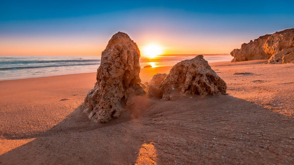 Sunset on the Algarve beaches in Portugal will leave you wanting more -- and staying longer.