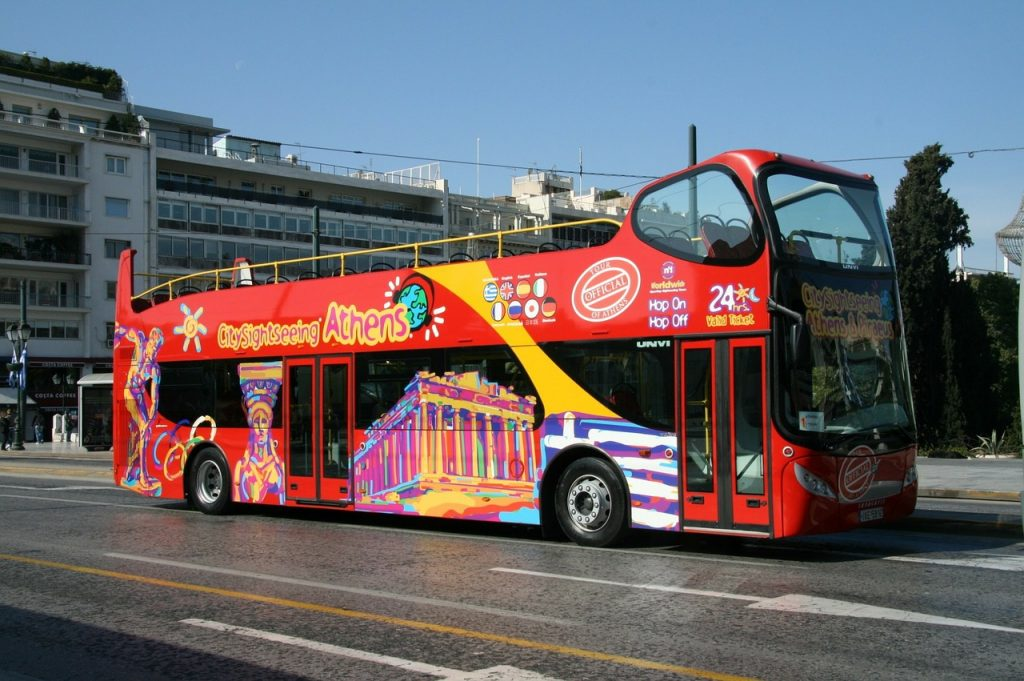 Another one of my favorite ways to explore any city is via the Hop-On-Hop-Off Double Decker buses.