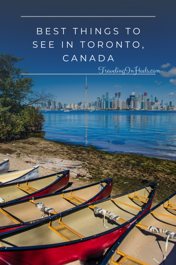 From its islands to the CN Tower, these are the best things to see in Toronto, Canada #torontocanada #thingstoseeintoronto #toronto #familyvacation #multigentrave