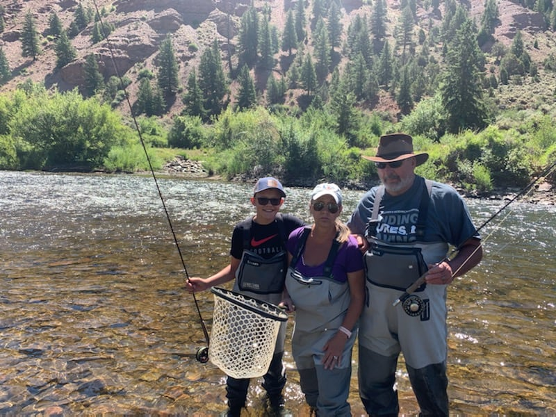 Skip Gen travel -- fly fishing near Vail, Colorado with Gore Creek Fly Fishing