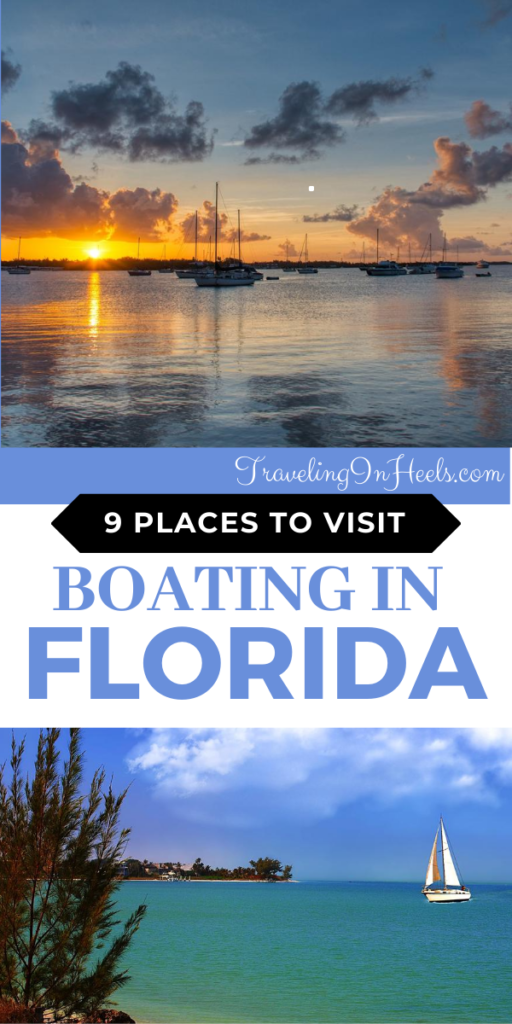 When ready for boating in Florida, here are 9 places to visit #boatinginflorida #boatingflorida #florida #familyvacation
