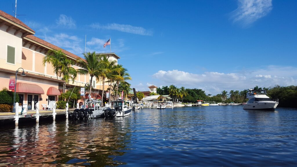 One of the top places for boating in Florida is Key West