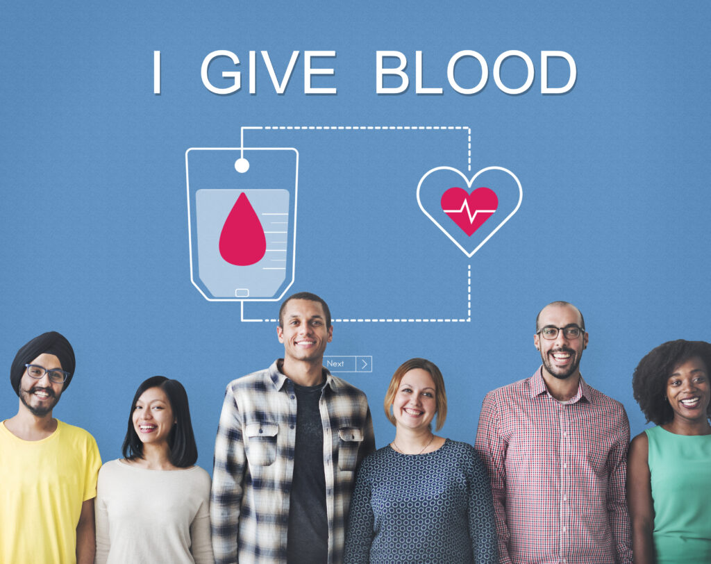 Another way to provide hurricane relief is through a Blood Donation.