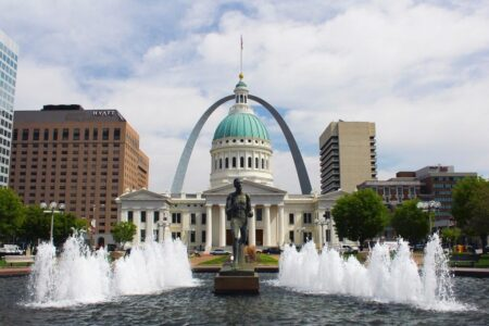 One of the most iconic Missouri tourist attractions is the famed St. Louis Arch.