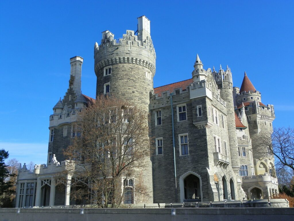 Located in midtown Toronto, Casa Loma is a Gothic Revival style mansion and garden, now an historic house museum and landmark.