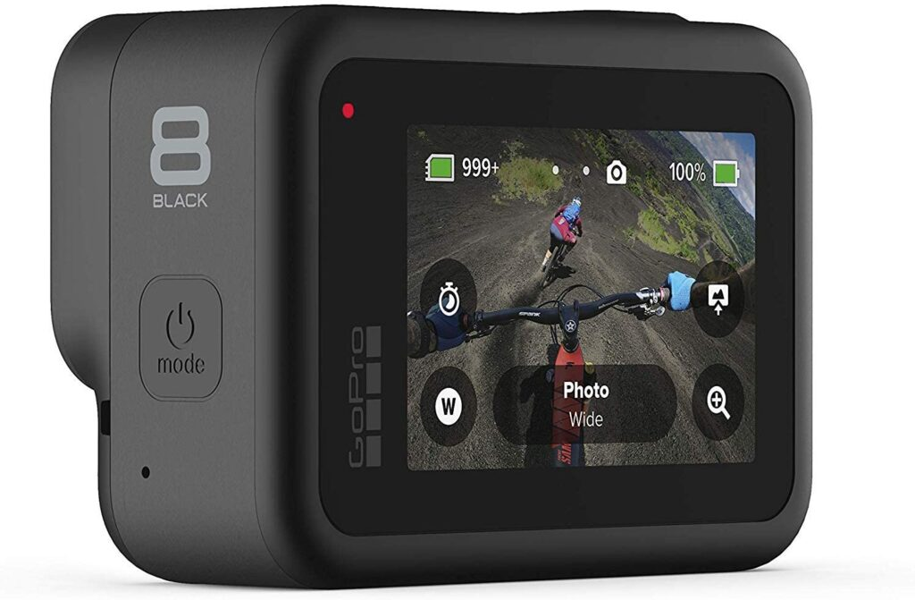 Go ahead and take the plunge, purchase the GoPro Hero8 Black Action Camera with Accessory Bundle at Amazon.