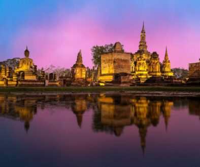 Historic Phra Nakhon is home to the 18th-century Grand Palace, a royal residence with lavish throne halls, museums, and the Temple of the Emerald Buddha.