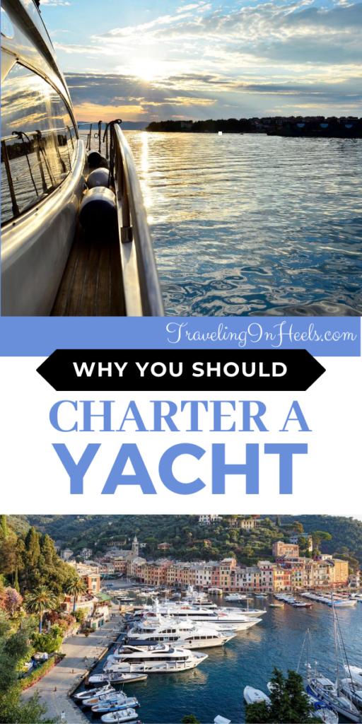 So many reasons why you should charter a yacht for your next vacation #charterayacht #charteringayacht #whycharterayacht #travelbucketlist