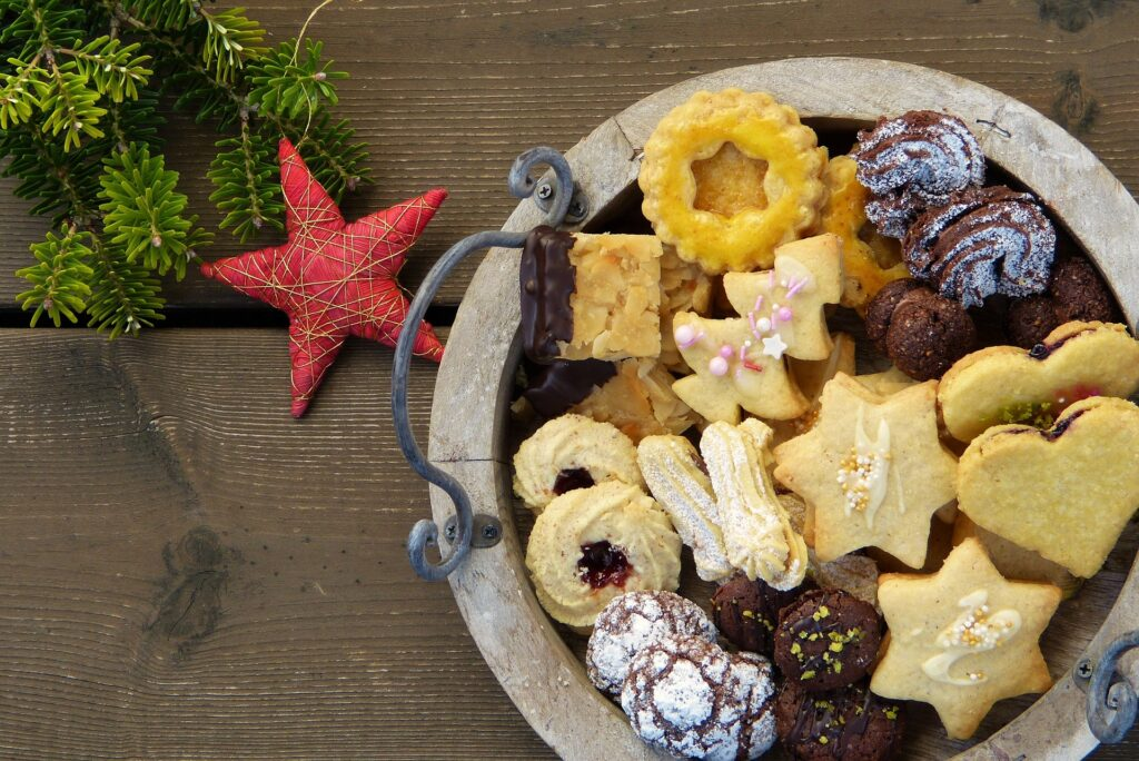 Gifting Homemade baked goods are a good way to save for travel