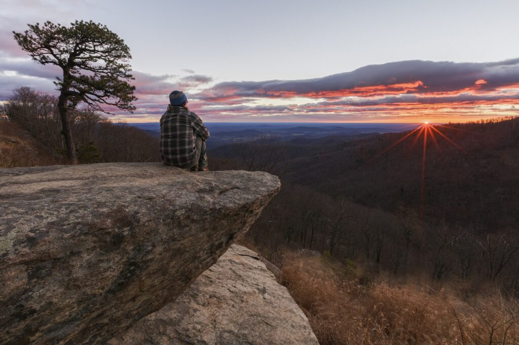 Virginia is home to the Shenandoah National Park.