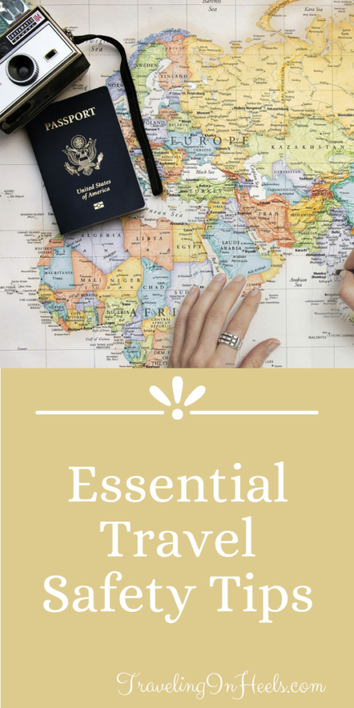 From a lost passport to pickpockets, follow these essential travel safety tips to ensure a safe vacation. #traveltips #travelsafetytips #travelsafety #familyvacation