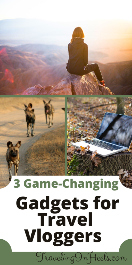 From trail cameras to Wi-Fi hot spots, 3 game changing gadgets for travel vloggers #travelvloggers #trailcamera #wifihotspots #travelgadgets #traveltips