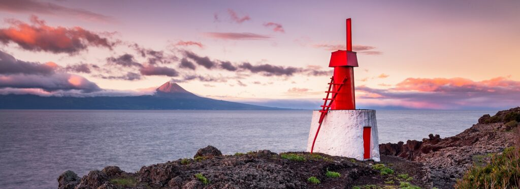 Fishing destinations like Azores, Portugal, offer spectacular views.