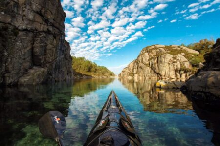 Kayaking Norway Photo Credit: OCLU Gallery