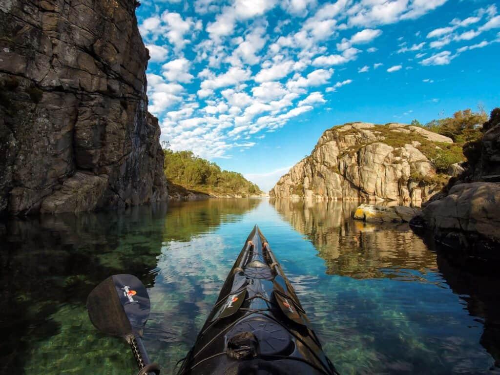 Kayaking Norway Photo Credit: OCLU Gallery