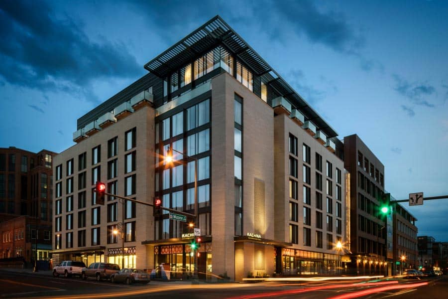 Chic, boutique and romantic, the Maven hotel in downtown Denver.