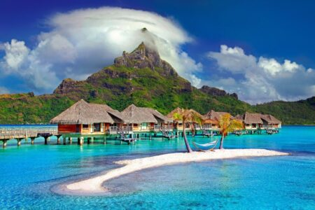 Luxury travel on a budget takes time, but with tips, Bora Bora might still be an option.