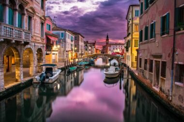 The Grand canal is one of many reasons to visit romantic Venice, Italy