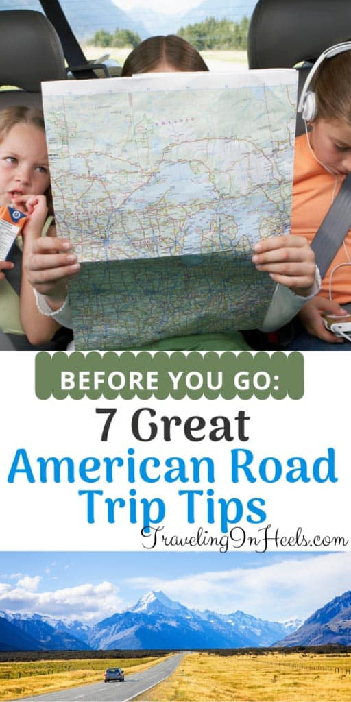 7 Great American Road Trip Tips before you go, from national parks to camping to local destinations. #roadtriptips #roadtriptipspandemic #roadtrip #nationalparksroadtrips #familyroadtrip