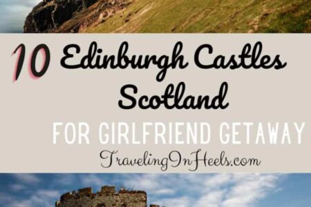 The perfect girlfriend getaway! Take your besties to visit Edinburgh Castles in Scotland! #edinburghcastles #castlesinscotland #edinburghhotelcastles #scotlandvacation