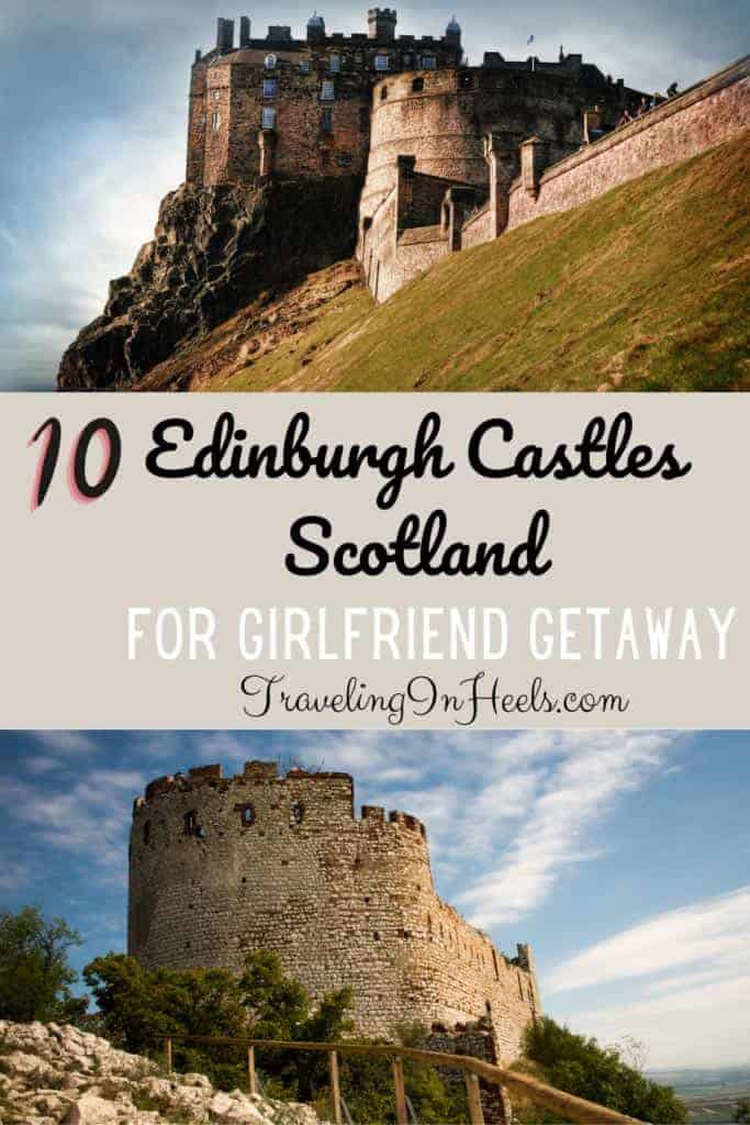 The perfect girlfriend getaway! Take your besties to visit Edinburgh Castles in Scotland! #edinburghcastles #castlesinscotland #edinburghhotelcastles #scotlandvacation