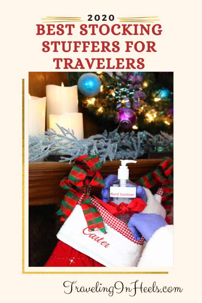 From travel-themed coffee mugs to personalized tote bags, here are the best stocking stuffers for travelers. #stockingstuffersfortravelers #stockingstuffers #giftideasfortravelers #giftideas #etsygifts #ad
