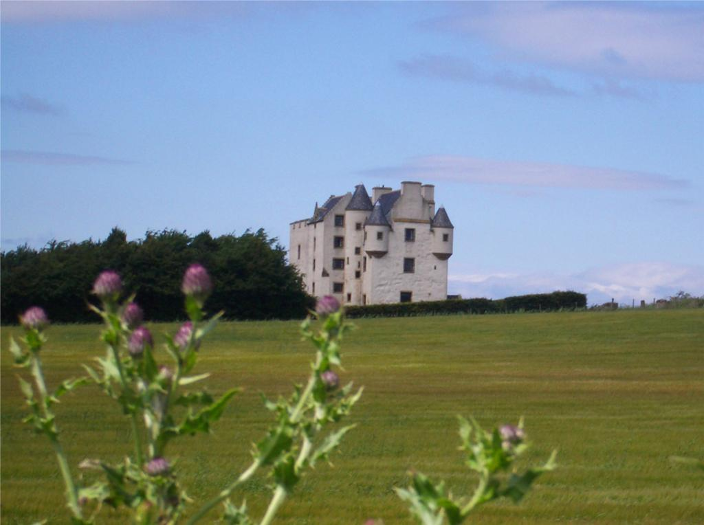 Around 10 miles east of Edinburgh city centre, the 14th-century castle on Faside Estate provides luxurious bed and breakfast accommodation.