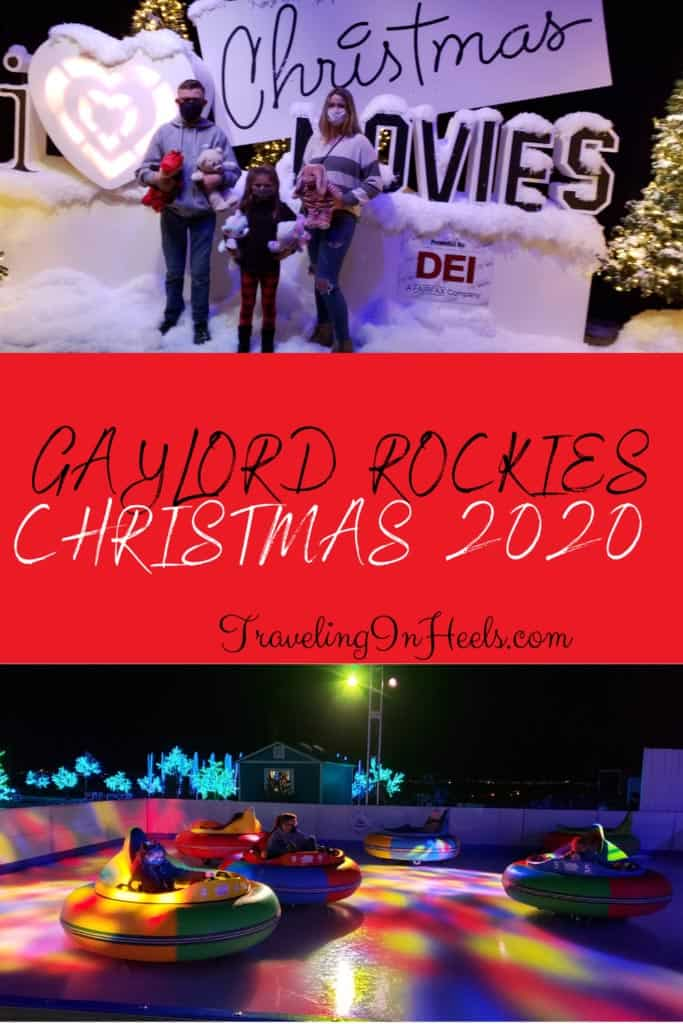 Gaylord Rockies Christmas 2020, family fun from Christmas movies to classic holiday books to outdoor snow tubing & ice bumper car #gaylordrockieschristmas2020 #gaylordrockieschristmas #gaylordrockieschristmasevents #gaylordrockieschristmasdenver