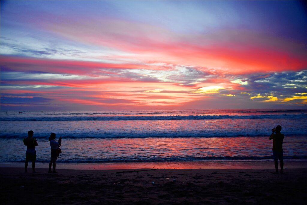 Kuta Lumbok Beach, one of the beautiful islands of Indonesi