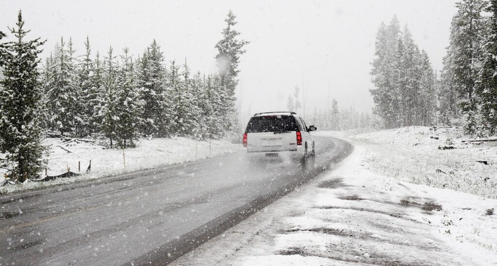 Inclement weather can turn a fun family road trip into a disaster.