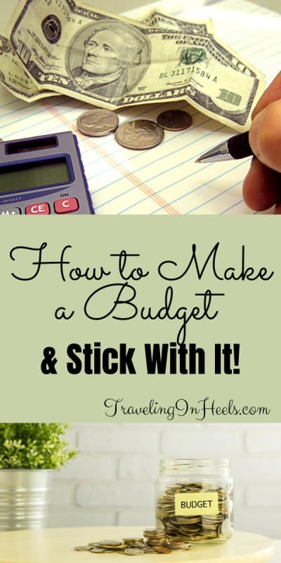 Tips on how to make a budget & stick with it, from using envelopes to budget apps #howtomakeabudget #howtostickwithbudget #keepabudget #budgettips