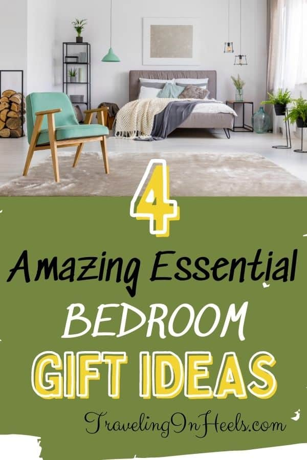From weighted blankets to night lights, 4 must-have bedroom gift ideas. #bedroomgiftideas #bedroomgiftideasforher #bedroomgiftideasforhim #bedroomgiftideasforcouples