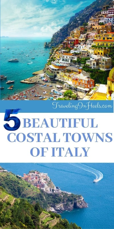 From Amalfi Coast to the Italian Riviera, these are the 5 most best coastal towns of Italy. #coastaltownsofitaly #bestcoastaltownsofitaly #coastaltownsnearromeitaly #coastaltownsnearflorenceitaly #italycoastaltowns #italy