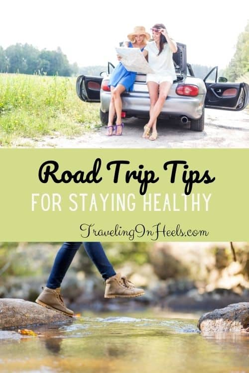 From exercise to dining, road trip tips for staying healthy #roadtriptips #healthyvacation #healthyroadtrip #healthytraveltips