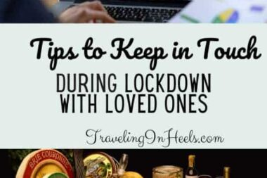 From gift boxes to video calls with loved ones, tips to keep in touch during lockdown -- or any time. #keepintouch #keepintouchduringlockdown #longdistancegifts