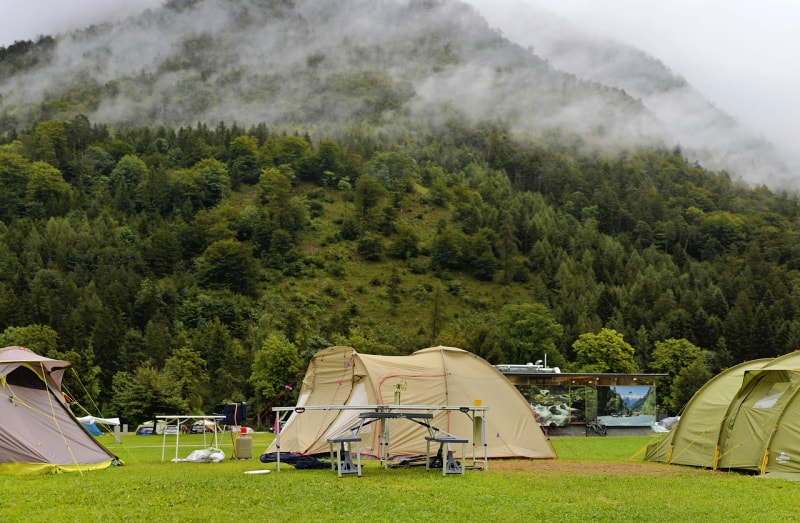 How to plan for a camping trip includes consideration of the destination AND weather.