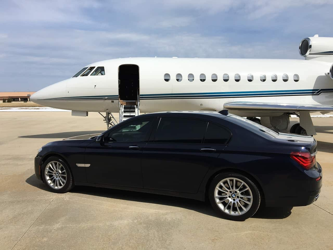 Consider hiring a private jet for business travel.