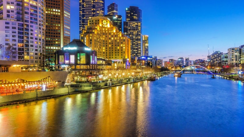 Night life in Melbourne, Australia, will keep you eating, drinking and dancing.